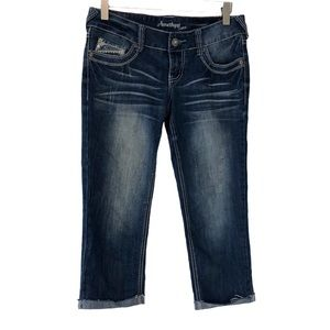 Amethyst Jean Crop Pants